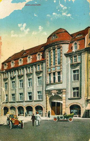 The trade college [Handelshochschule] in Leipzig, ca. 1910