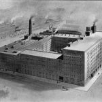 Schoellkopf & Company sheep leather tanning and manufacturing plant, Perry and Mississippi Streets, Buffalo, ca. 1908