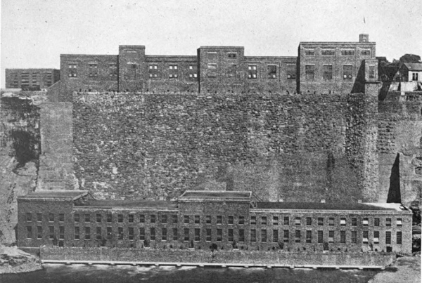 View of Power-Station No. 3 from Canadian Side of Niagara River