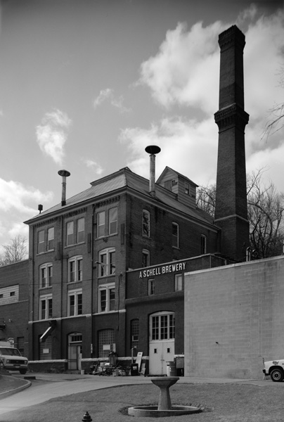 August Schell Brewing Company brew house in New Ulm, Minnesota, 20th Century