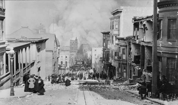 San Francisco earthquake and fire of 1906