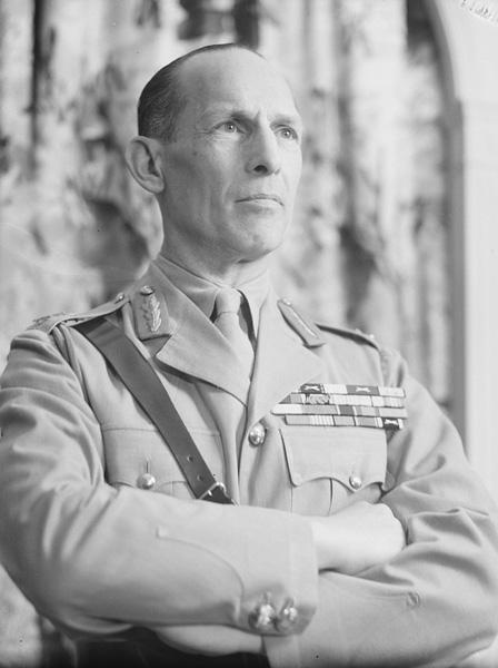 George II, King of Greece, portrait photograph, ca. 1942