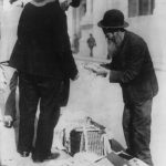 Jewish life - Jewish peddler, New York City, no date
