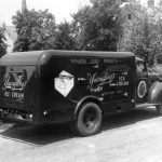 Ice cream truck from the Yuengling Dairy Products Corporation, ca 1920s