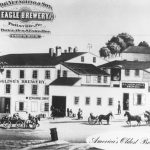 David G. Yuengling's Eagle Brewery in Pottsville, Pennsylvania, ca. 1835