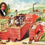 D.G. Yuengling & Son's Eagle Brewery in Pottsville, Pennsylvania, n.d.