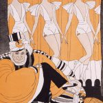"Caricature of Ziegfeld as ""Florenzo the Magnificent,"" 1923"