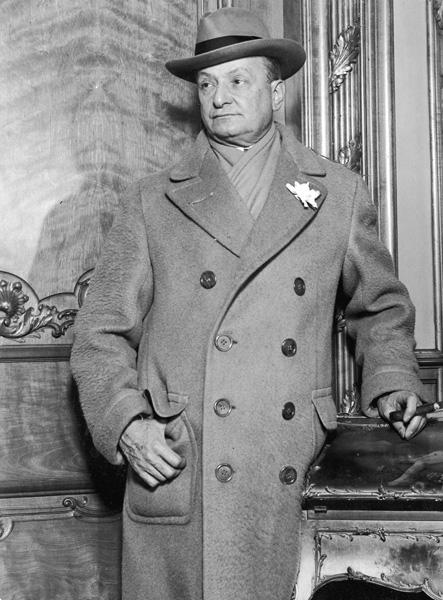 Portrait of Florenz Ziegfeld, 1925