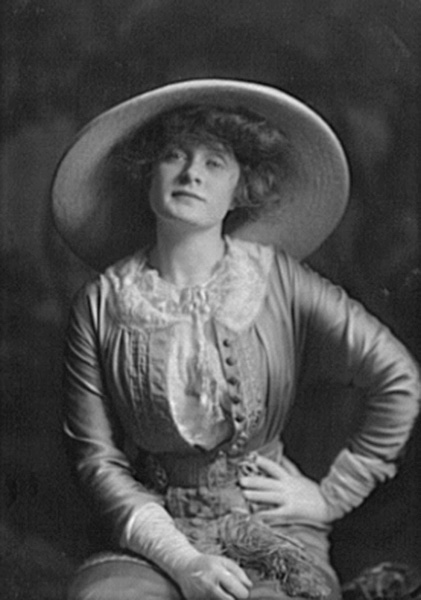 Portrait of Billie Burke by Arnold Genthe, 1911