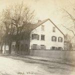 Christoph Sauer's house and print shop, Germantown, Pennsylvania, April 1859