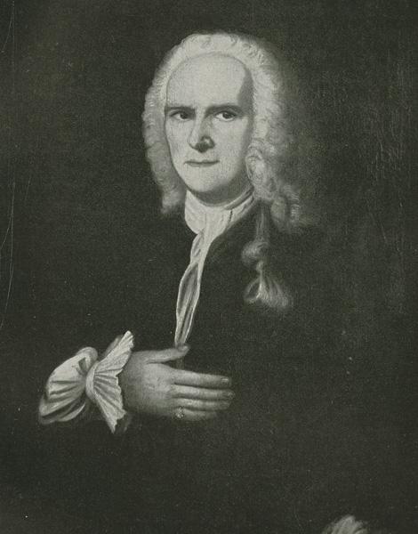 Dr. Heinrich Ehrenfried Luther portrait based on the original oil painting by Johann Helfrich Kramer