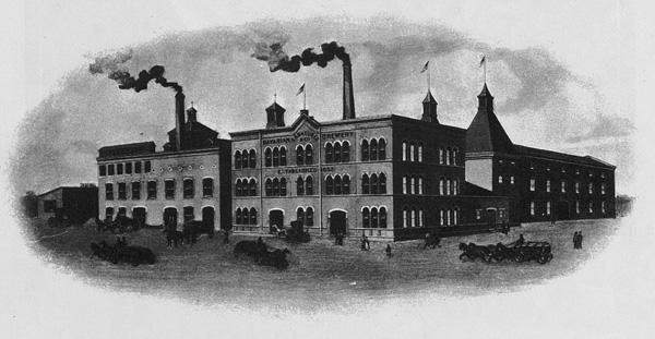 Eberhard Anheuser's Bavarian Brewery, ca. 1860s