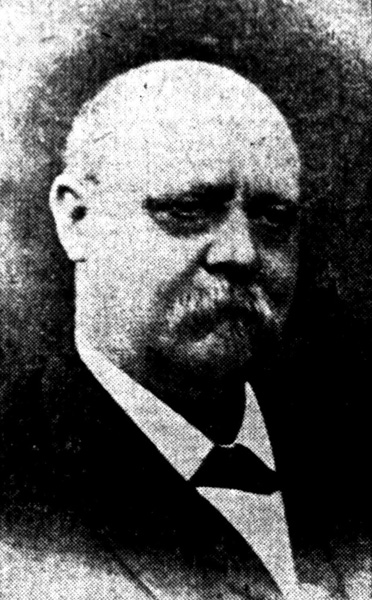 Portrait of William Anheuser from his 1901 obituary in the St. Louis Post-Dispatch