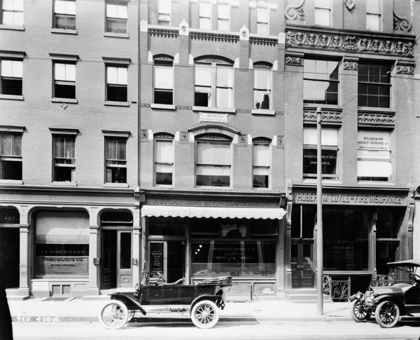 The Jefferson Fire Insurance Company, 425 Walnut Street, Philadelphia, Pennsylvania, ca. 1930s-1940s