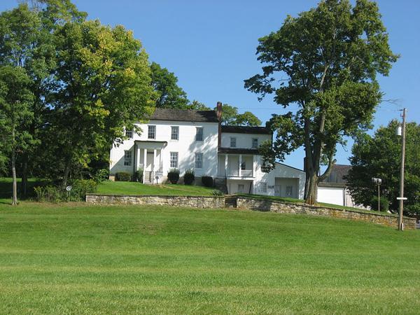 Daniel Hertzler House in Bethel Township, Ohio