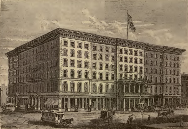 The Southern Hotel, St. Louis, Missouri, ca. 1870s