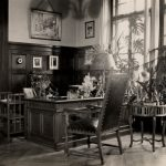 Hermann Schuelein's office at Lowenbräu