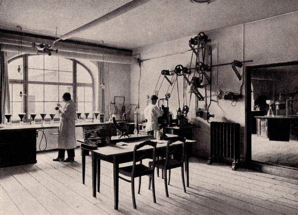 Control laboratory for Cenovis, Munich