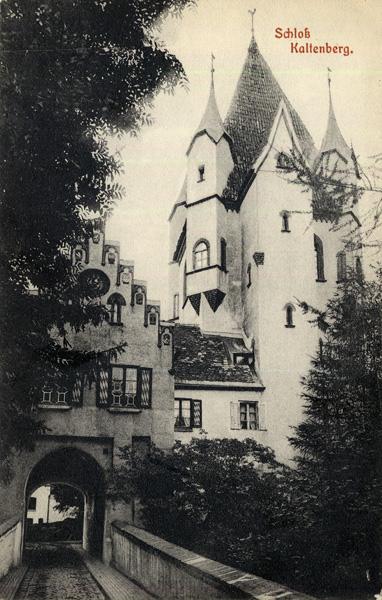 Postcard of Schloss Kaltenberg