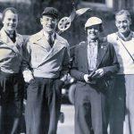Barbara Honeyman Hirsch, Harold S. Hirsch, Helen McAlpin, and Malcolm McAlpin, August 1937