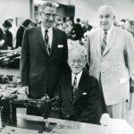 John Zehntbauer, Clarence Bishop, and Max S. Hirsch, 1957