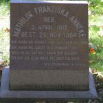 Gravestone of Mathilde Franziska Anneke, Forest Home Cemetery, Milwaukee, Wisconsin