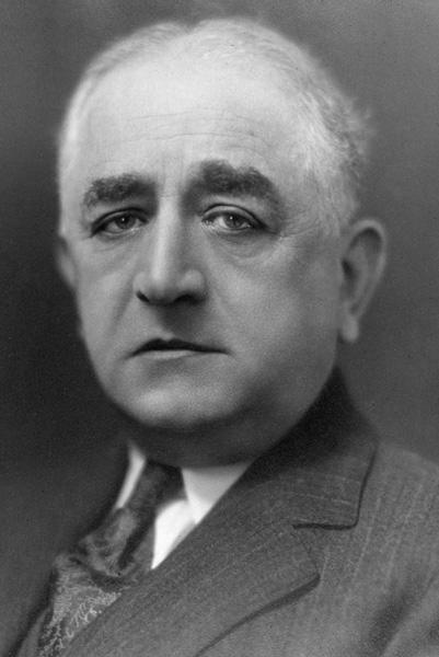 Portrait of Adolph S. Ochs, January 1, 1915