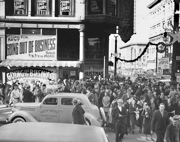 Lester Friedman's Successor Store, 1941