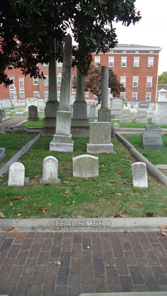 Thalhimer family plot at the Hebrew Cemetery, Richmond, Virginia