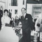William B. Thalhimer Jr., Alexander Parker, and Ellen Janus  attending Thalhimer Career Shop Opening, n.d.