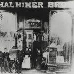 Thalhimer Brothers store at 501 Broad Street, Richmond, Virginia, 1881