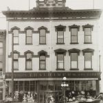 Thalhimer Brothers storefront, Fifth and Broad Streets, Richmond, Virginia, ca. 1895-1922