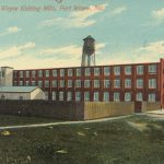 Postcard of Wayne Knitting Mills, 1918