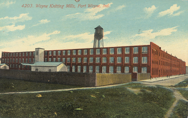 Postcard of Wayne Knitting Mills, 1918