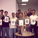 LinkedIn's 500,000 member milestone