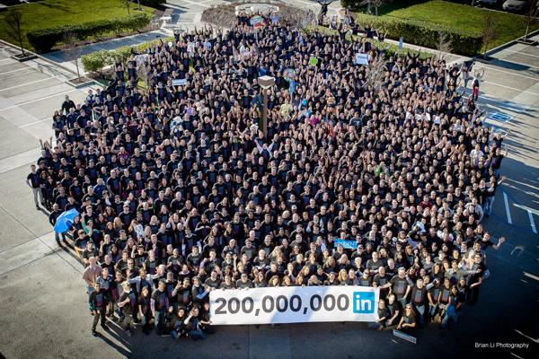 LinkedIn's 200,000 million member milestone