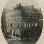 Photograph of 230 West Brown Street, Philadelphia, PA. The building housed the Gratz brother's mercantile operations