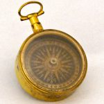 Compass that belonged to Michael Gratz