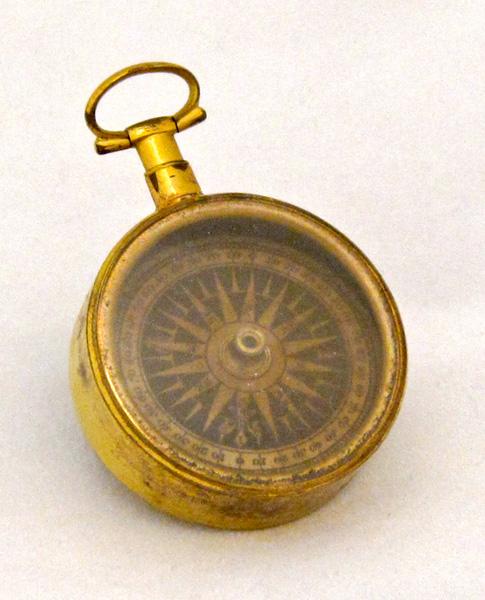 Compass that belonged to Michael Gratz