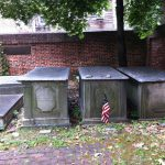 Tomb of Michael Gratz in Mikveh Israel Cemetary, Eighth and Spruce Streets, Philadelphia, PA