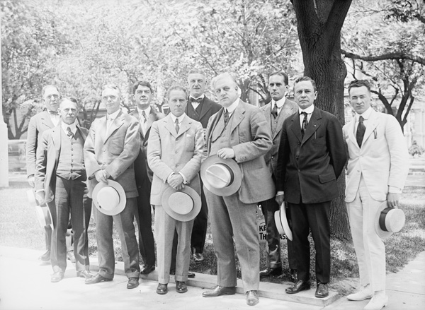 Alien Property Custodian A. Mitchell Palmer and His Executive Staff, 1918