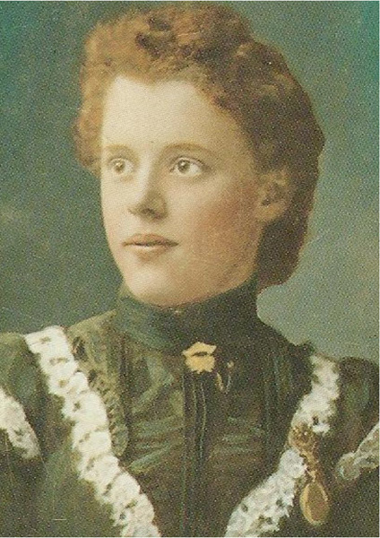 Greta Peter as a young woman, n.d.