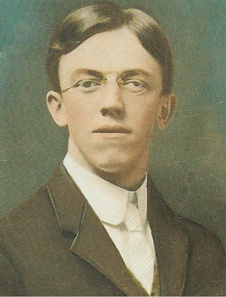 Val Peter as a young man, n.d.