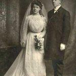 Val and Greta Peter's wedding, April 1905
