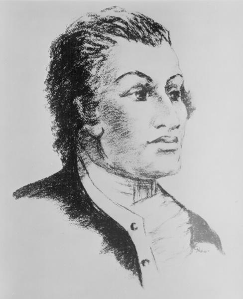 Haym Salomon portrait commissioned by the George Washington Bicentennial Commission, ca. 1930s