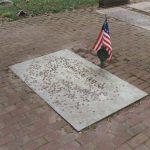 Haym Salomon memorial marker at Mikveh Israel Cemetery, Philadelphia, PA