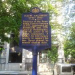 Haym Salomon historical marker located at Forty-Four North Fourth Street, Philadelphia, PA.