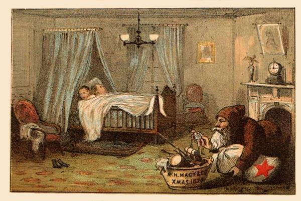 R.H. Macy & Company Advertising Card, 1874