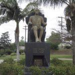 Haym Salomon memorial sculpture, Pan-Pacific Park, Los Angeles, CA