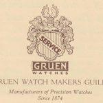 Gruen Guild Watches, 1926